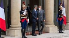 ماكرون يلتقي بلينكن في أول محادثات بين البلدين بعد أزمة الغواصات