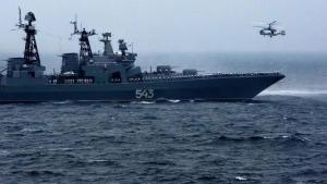 """俄军在美国家门口演练""""摧毁航母""""网友:中国可学"""