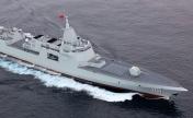 中俄首次海上联合巡航