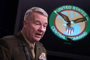 美中央司令部司令表示对阿富汗平民死亡事件负全责