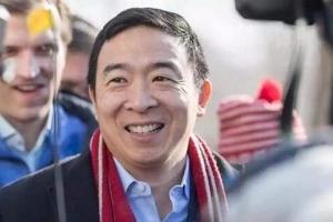 美国纽约市市长参选人杨安泽新冠检测呈阳性