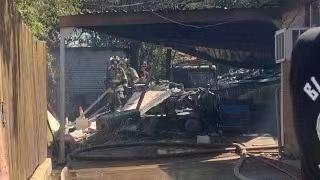 美国军机在得克萨斯州坠毁 2名飞行员受伤