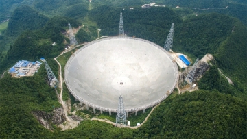 China is opening the world's largest radio telescope to global scientists