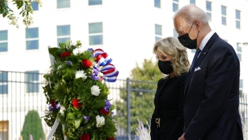 Biden embraces message of unity on 9/11 anniversary