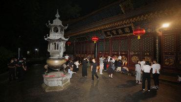 普济禅寺六月十九观音香会期进香活动安全有序
