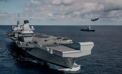 英国航母结束西太部署,一个新动向值得中国警惕!