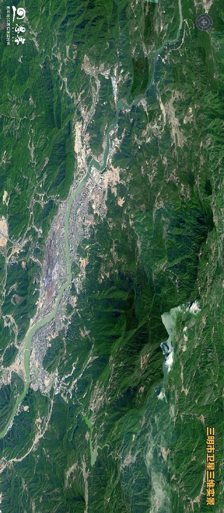 """卫星告诉你,三明凭什么被称为""""宝藏城市""""?"""