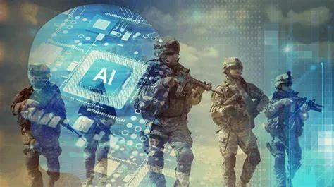 ▲资料图片:美军AI(人工智能)作战宣传图。(美国防部官网)