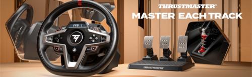 T248:新款力反馈赛车方向盘,轻松驾驭每一条赛道