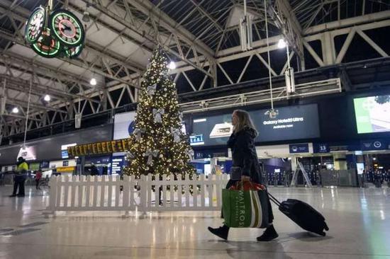 英国机场资料图。图源:美联社