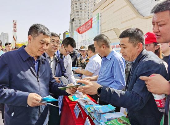 """榆林市举行""""5·12全国防灾减灾日""""宣传周启动仪式"""