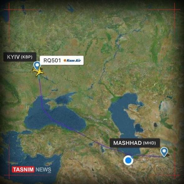 """伊朗否认乌克兰飞机""""被劫持"""" 称其已降落基辅"""