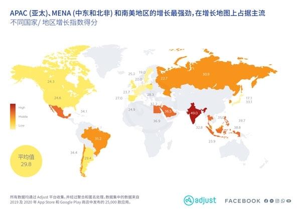 Adjust发布全球移动应用增长报告