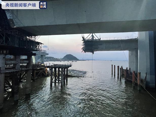 珠海金海大桥垮塌事故已发现2名遇难者