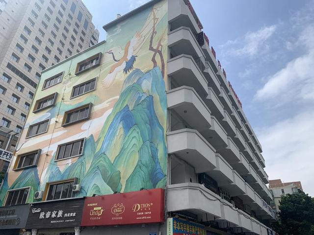 佛山桂城61座老旧楼宇完成外立面改造 沿线涉及范围长度约5.1公里