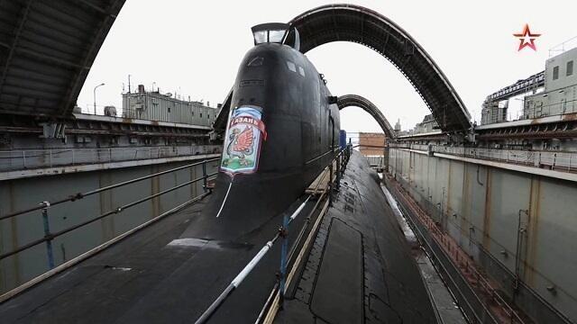 俄罗斯885M型导弹核潜艇首艇喀山号正式交付入列