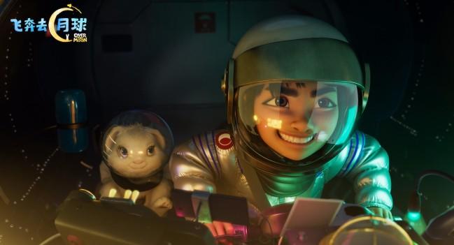 《飞奔去月球》获奥斯卡金像奖最佳动画长片奖提名