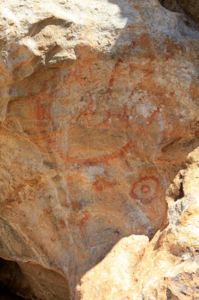 唐巴勒塔斯一号洞穴岩画