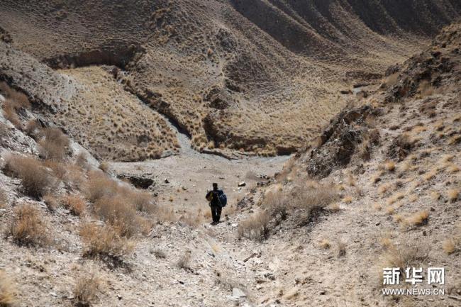 岩画爱好者杜成峰默默守护祁连山古老印记20年