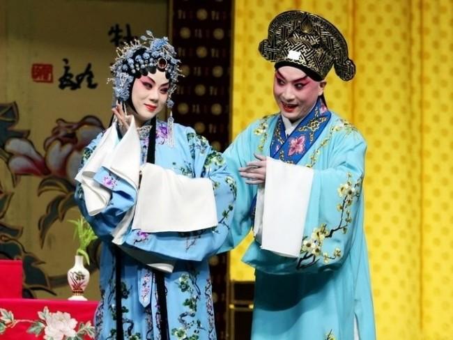 金喜全在《牡丹亭》中的柳梦梅扮相