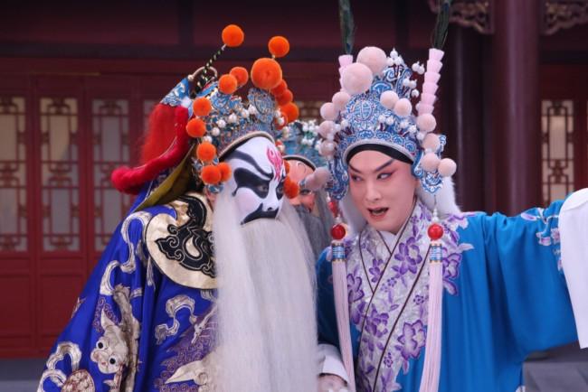 金喜全在京剧《九江口》中的华云龙扮相