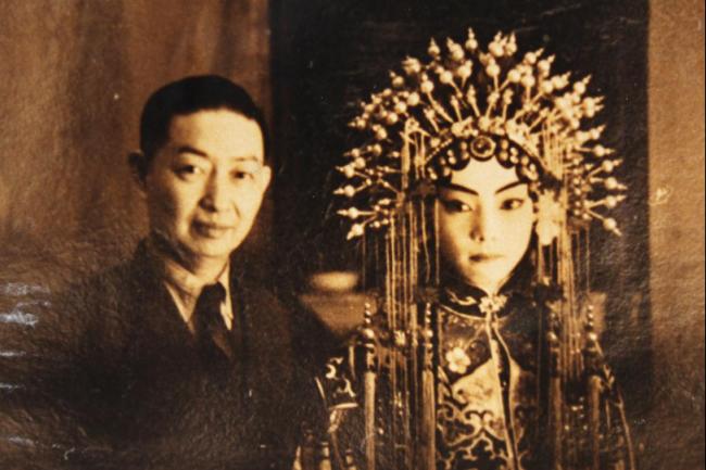 梅兰芳先生和幼年梅葆玖