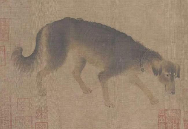 南宋·李迪《猎犬图》故宫博物院藏