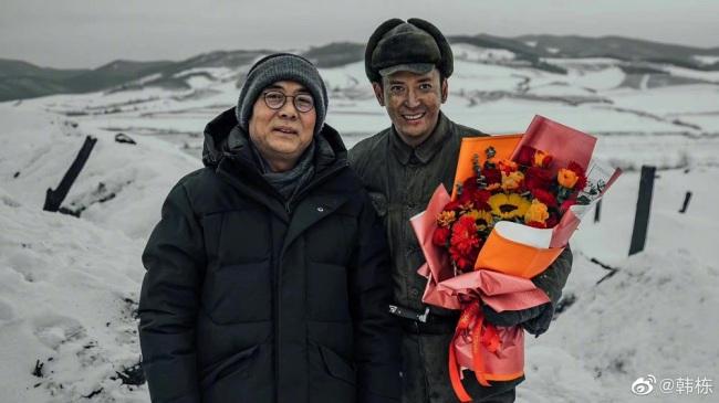 韩栋《跨过鸭绿江》圆满杀青 感恩先烈勿忘历史