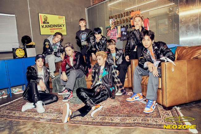 NCT 127在Billboard年末结算榜单中展现强烈存在感