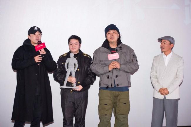 《唐人街探案3》映后畅聊会 陈思诚王宝强感谢观众一路同行