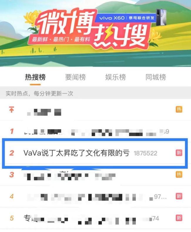 """《吐槽大会》VaVa毛衍七再次掀起现象级热度 热搜体质成""""综艺顶流"""""""