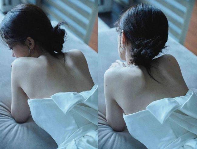 张小斐一袭白裙太过妩媚 曲线优越性感撩人