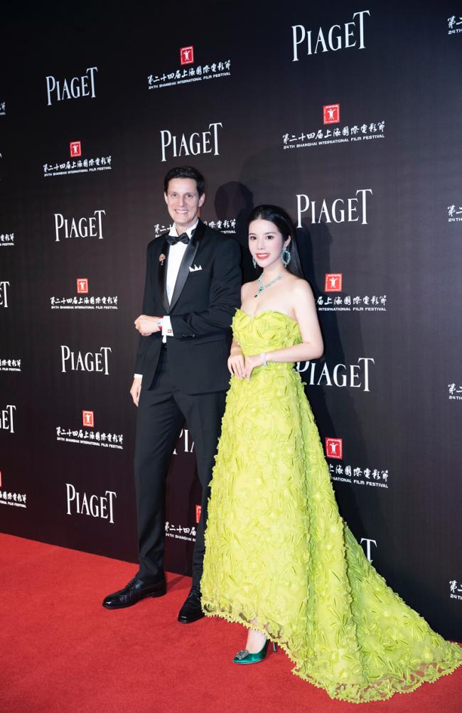 余晚晚出席上海电影节非凡之夜 亲自为扶植青年电影人站台