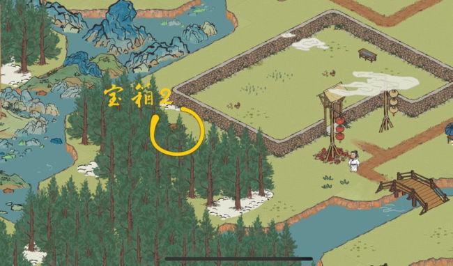 江南百景图春节限时探险宝箱钥匙位置介绍