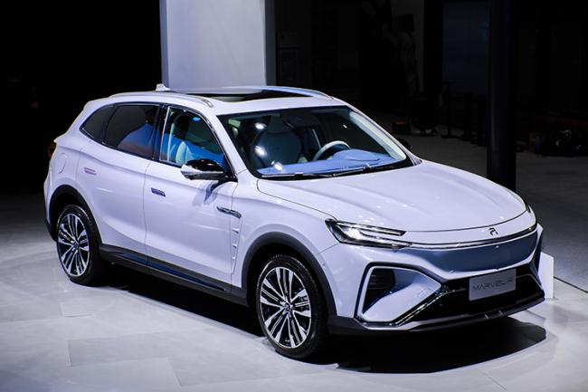 全球首款5G车 MARVEL R展现中国智造实力