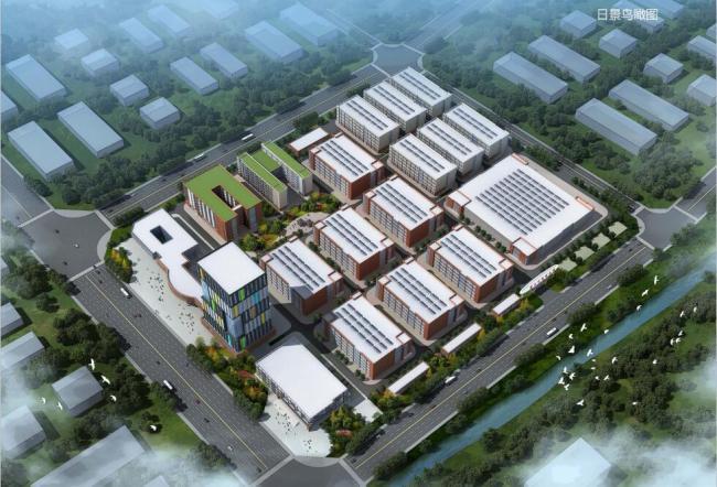 安徽望江示范创业园项目首栋厂房结构封顶