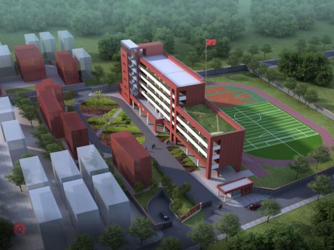 一周内两所学校动工扩建!邵边小学扩建正式动工 预计2023年投入使用
