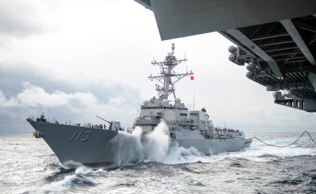 """美国海军""""约翰·芬恩""""号驱逐舰"""
