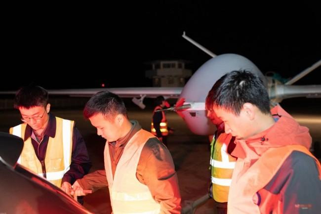 """翼龙-2无人机亮相""""应急使命•2021""""演习"""