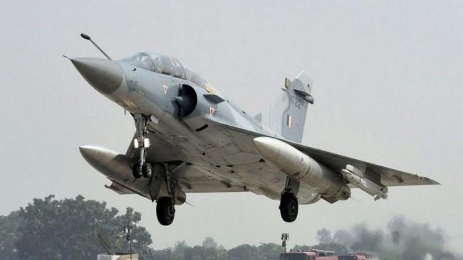 """印度空军""""幻影""""2000战斗机资料图<br><br>"""