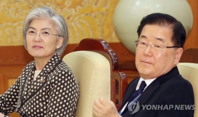突然换人?文在寅提名韩国安首长郑义溶为新任外长