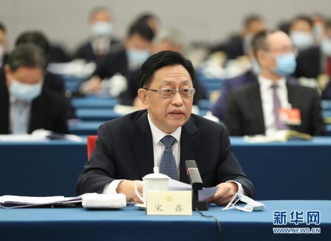 两会·热点画报:推动绿色发展 建设美丽中国