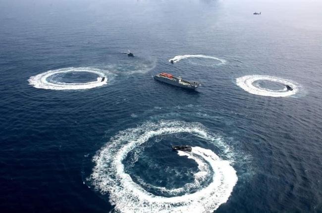 缅甸海军举行为期八天的海上军演 提醒民船撤离
