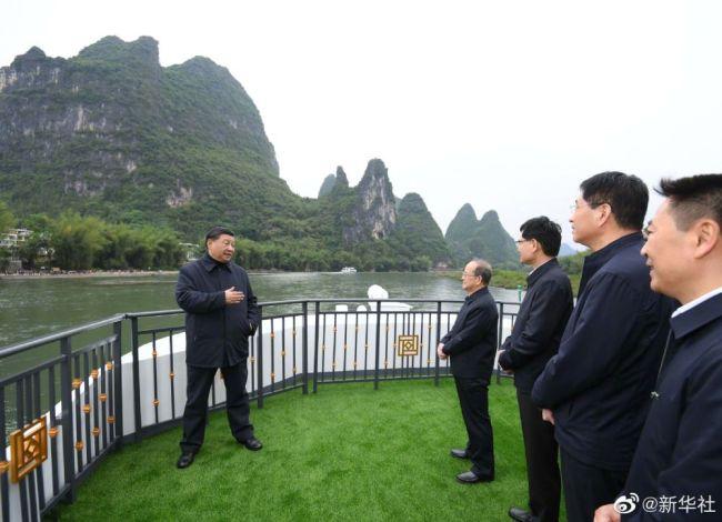 习近平谈漓江流域综合治理:千万不要破坏生态环境