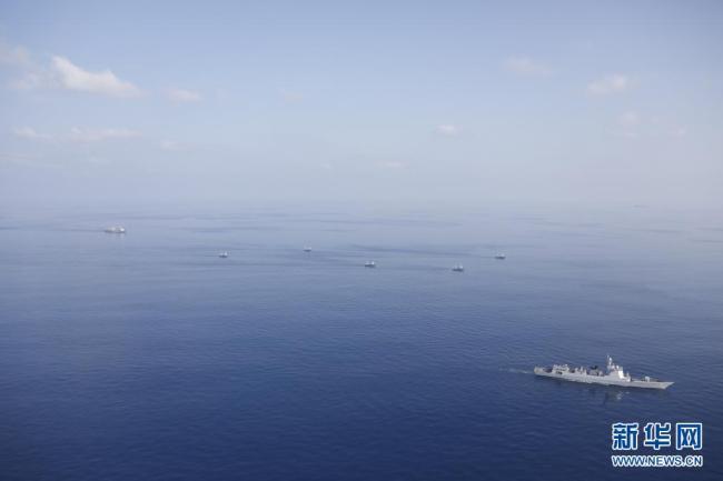 中国海军第37批护航编队凯旋