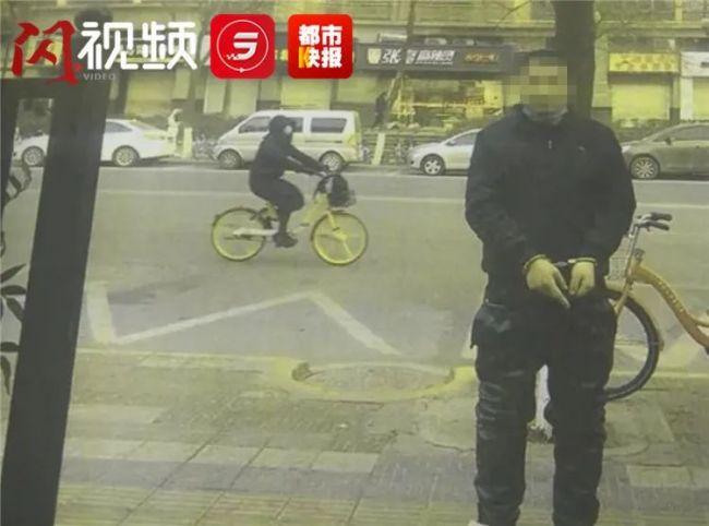 """""""西安泼墨男""""一审被判刑:寻衅滋事罪,1年6个月"""