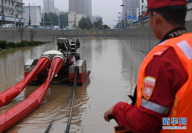 郑州:救援进行中