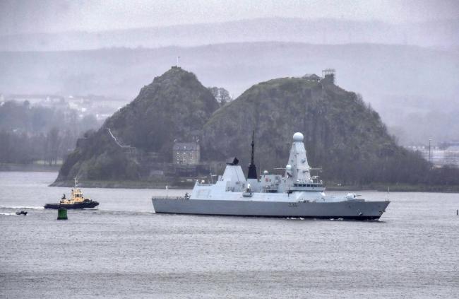 """英国皇家海军45型驱逐舰""""只剩下一艘能用"""""""