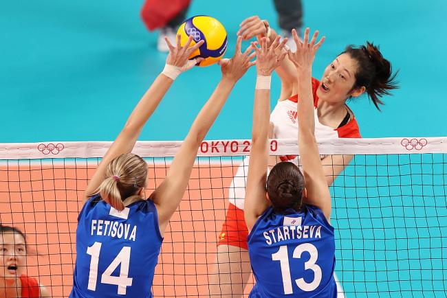 三连败!中国女排2比3不敌俄罗斯奥运队