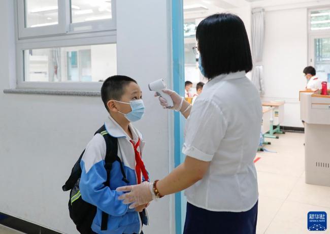 北京:140万中小学生即将开启新学期